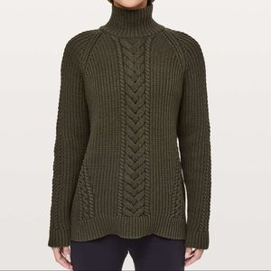 Lululemon Bring the Cozy Turtleneck Sweater